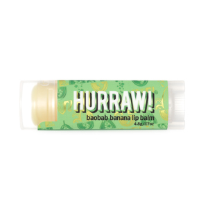 Hurraw lip balm baobab banana