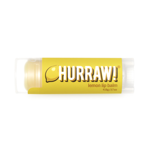 Hurraw lip balm lemon