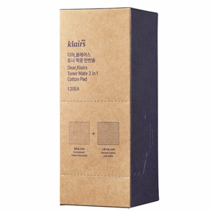 Klairs 2 in 1 cotton pads