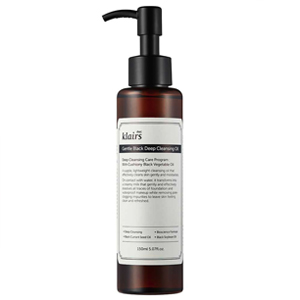 Klairs deep black cleansing oil