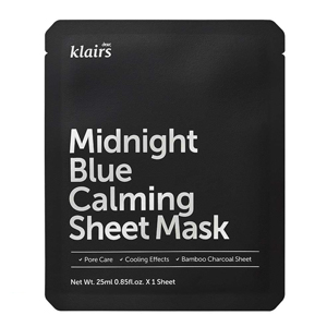 Klairs midnight blue calming steet mask