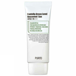 Purito centella green level unscented sun